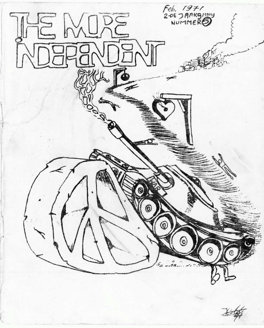 More Independent, 2, 5 (1971), cover
