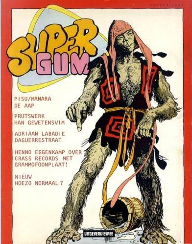 Supergum 2, 1980, cover